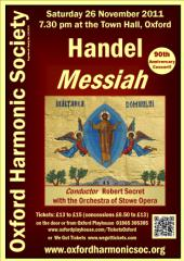 2011 Nov Messiah poster