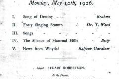 1926-05-26-programme
